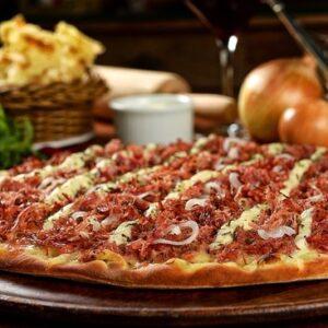 Pizza à la viande